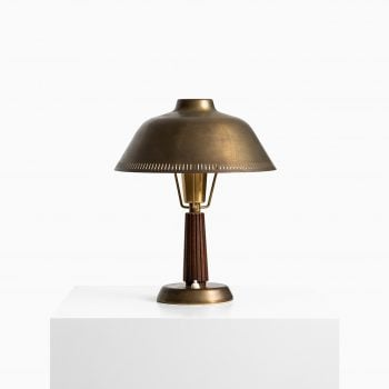 Hans Bergström table lamp in brass by ASEA at Studio Schalling
