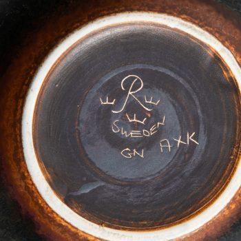 Gunnar Nylund large ceramic bowl by Rörstrand at Studio Schalling