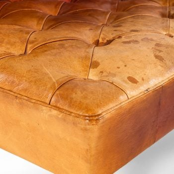 Kaare Klint Addition sofas in niger leather at Studio Schalling