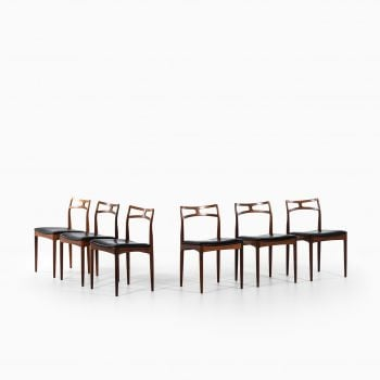 Johannes Andersen dining chairs model 94 at Studio Schalling
