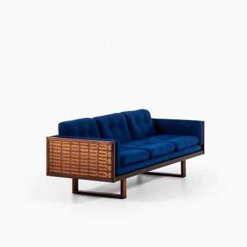 Poul Cadovius rosewood sofa by France & Son at Studio Schalling