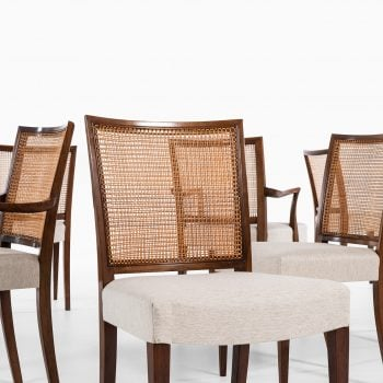 Ernst Kühn dining chairs by Lysberg Hansen & Therp at Studio Schalling
