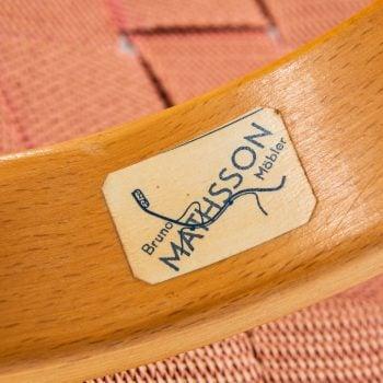 Bruno Mathsson Pernilla easy chair in birch at Studio Schalling