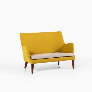 Arne Vodder sofa in teak by Ivan Schlechter at Studio Schalling
