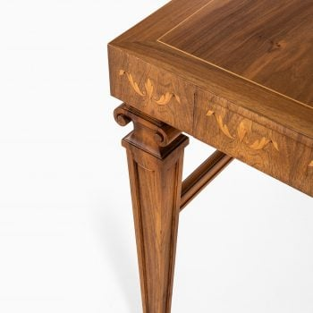 Desk in walnut attributed to Carl Malmsten at Studio Schalling