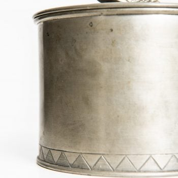 Pewter jar from 1928 by Svenskt Tenn at Studio Schalling