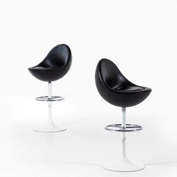 Börje Johansson bar stools model Venus at Studio Schalling
