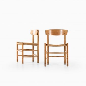 Børge Mogensen J39 dining chairs by FDB møbler at Studio Schalling