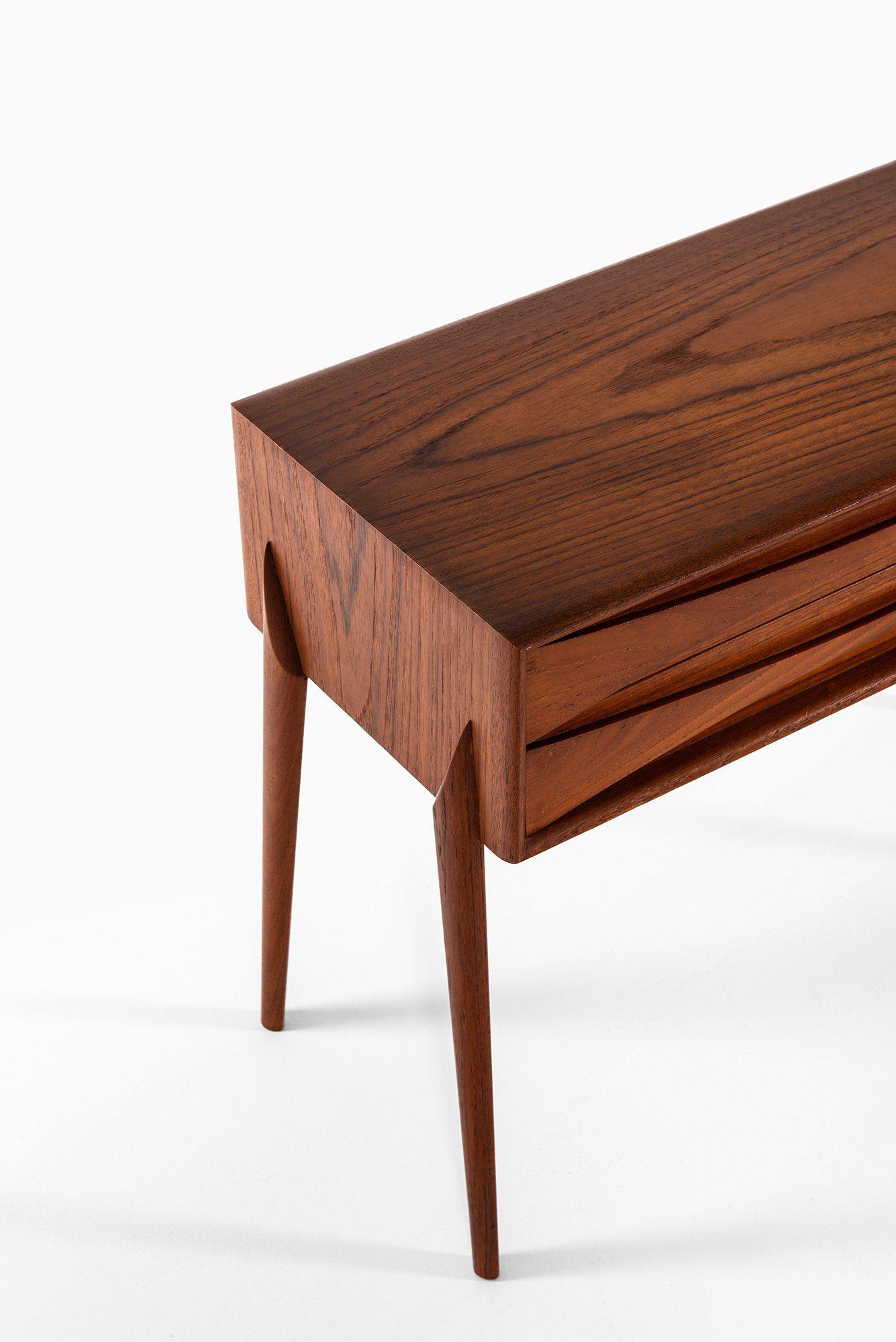Side Table Bureau.Rimbert Sandholt Side Table Bureau In Teak At Studio Schalling