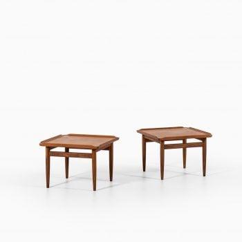 Kurt Østervig side tables by Jason møbler at Studio Schalling