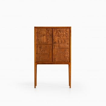 Ulla Fogelklou-Skogh bar cabinet by Bodafors at Studio Schalling