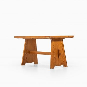 Göran Malmvall dining table in solid pine at Studio Schalling