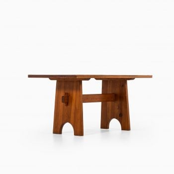 Dining table in the manner of Axel Einar Hjorth at Studio Schalling