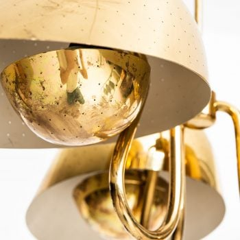 Carl-Axel Acking ceiling lamp in brass at Studio Schalling