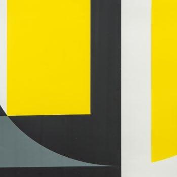 Lars-Gunnar Nordström serigraph from 1968 at Studio Schalling