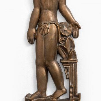 Stig Blomberg bronze reliefs by ASEA at Studio Schalling