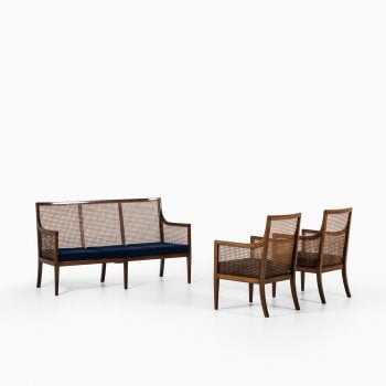 Lysberg Hansen & Therp Bergere easy chairs at Studio Schalling