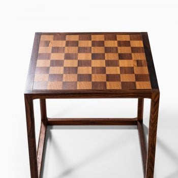 Aksel Kjersgaard nesting tables in rosewood at Studio Schalling