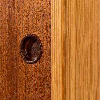 Børge Mogensen cabinet in oregon pine and teak at Studio Schalling