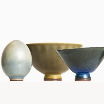Berndt Friberg small ceramic vases at Studio Schalling