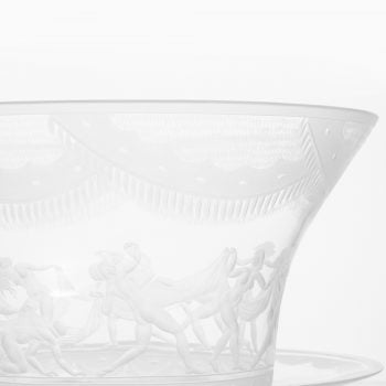 Simon Gate glass vase model Slöjdansen at Studio Schalling