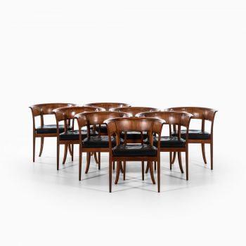 Kaare Klint armchairs model 4395 in mahogany at Studio Schalling
