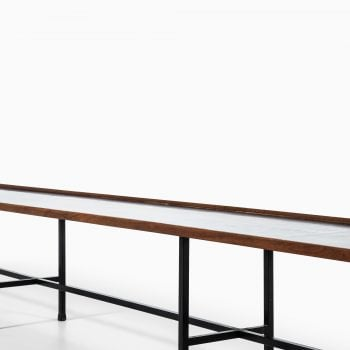 Kurt Østervig long bench in teak by Jason at Studio Schalling