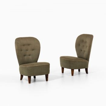 Pair of 1940's funky easy chairs at Studio Schalling