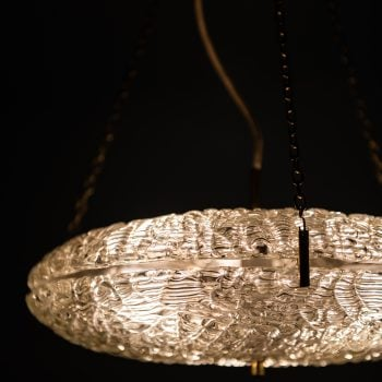 Carl Fagerlund attributed ceiling lamp at Studio Schalling