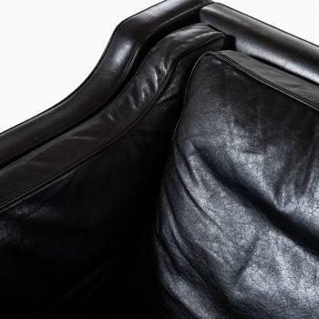 Børge Mogensen 2213 sofa in black leather at Studio Schalling
