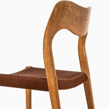 Niels O. Møller dining chairs model 71 at Studio Schalling