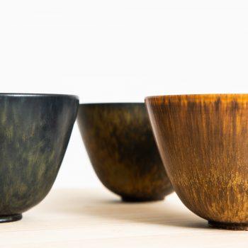 Gunnar Nylund ceramic bowl model ARU at Studio Schalling