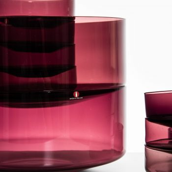 Timo Sarpaneva glass bowls by Iittala at Studio Schalling