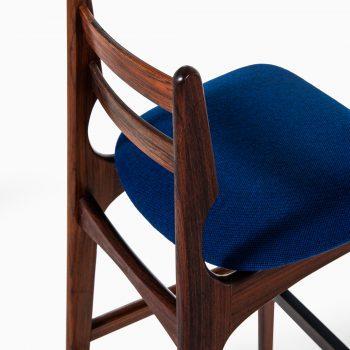 Niels Bachs møbelfabrik bar stools in rosewood at Studio Schalling