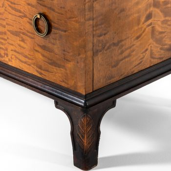 Erik Chambert cabinet in rosewood and flamed birch at Studio Schalling