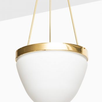 Lars Bylund Moon ceiling lamp in brass at Studio Schalling