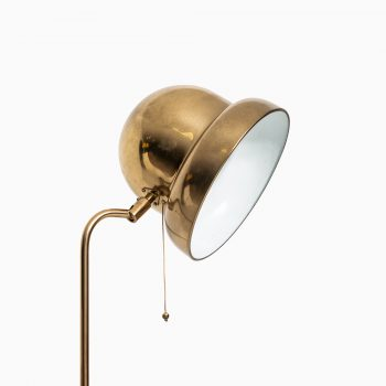 Floor lamp model G-090 in brass by Bergbom at Studio Schalling