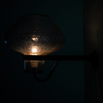 Gunnar Asplund wall lamp by ASEA at Studio Schalling