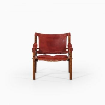 Arne Norell Sirocco easy chair in rosewood at Studio Schalling