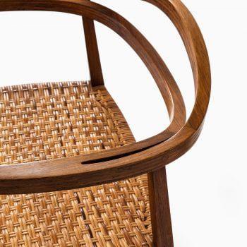Ole Gjerløv-Knudsen armchairs in rosewood at Studio Schalling