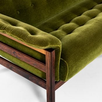 Sofa in velvet attributed to Percival Lafer at Studio Schalling