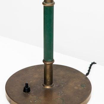 Vilhelm Lauritzen table lamp in brass at Studio Schalling