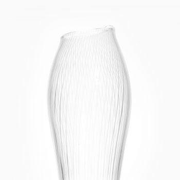 Tapio Wirkkala glass vase by Iittala at Studio Schalling