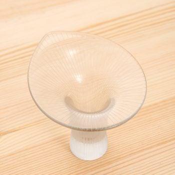 Tapio Wirkkala Kantarelli glass vases at Studio Schalling