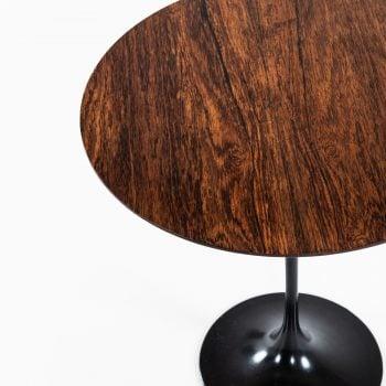 Eero Saarinen tulip side table in rosewood at Studio Schalling