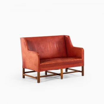 Kaare Klint sofa model 5011 in niger leather at Studio Schalling