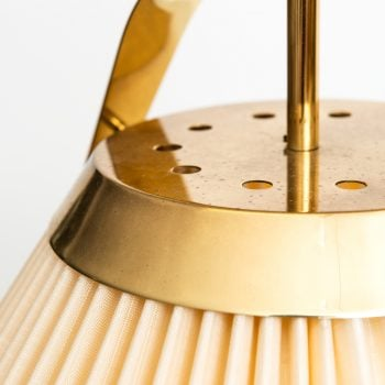 Bergbom ceiling lamp in brass and original shade at Studio Schalling