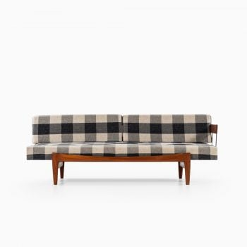 Ib Kofod-Larsen sofa / daybed in teak at Studio Schalling