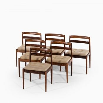 Kai Kristiansen dining chairs model Universe at Studio Schalling