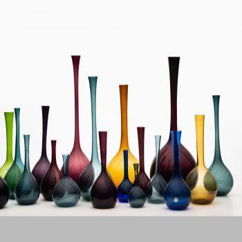 Arthur Percy glass vases by Gullaskruf at Studio Schalling